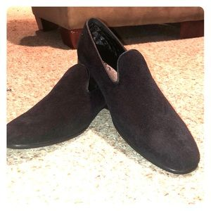 Men's Suede black loafers - Aldo